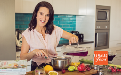 WHAT'S COOKING WITH HELEN TRICARICO, FOUNDER H.O.T.I. KOMBUCHA